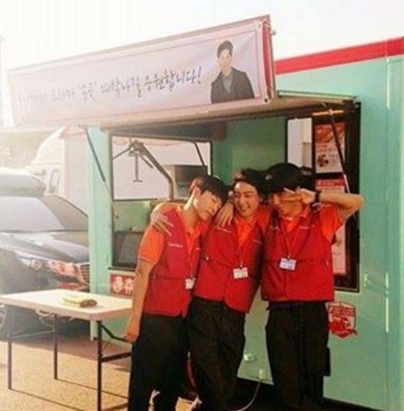 '송곳' 현우 예성 박시환 / 사진=현우 인스타그램