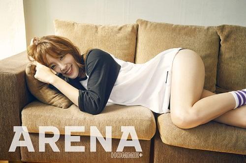 신아영 / 아레나 화보