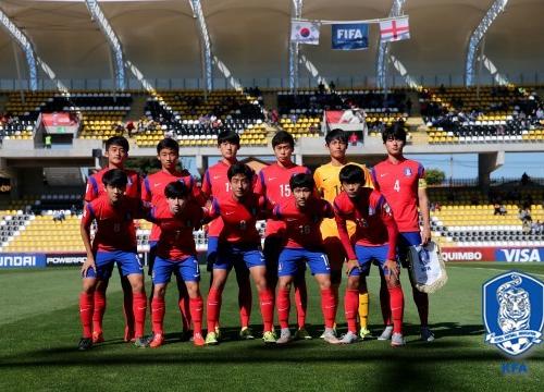 한국 벨기에 이승우 한국 벨기에 이승우/사진=대한축구협회 제공