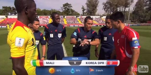 U-17월드컵 북한, 말리에 패 /피파TV 유튜브 채널 캡쳐
