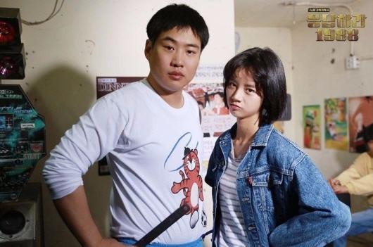 응답하라 1988 혜리 안재홍/tvN