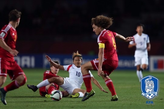 한국 벨기에 한국 벨기에 /대한축구협회