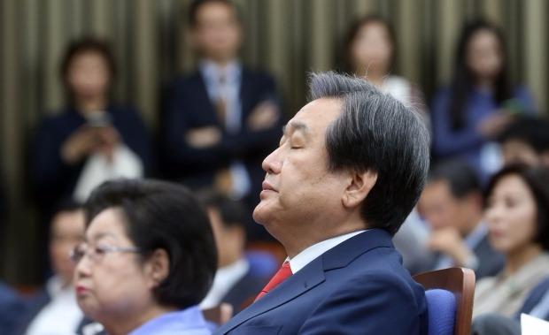 김무성의 '시위'…박 대통령 행사 포함 일정 전면 취소 | 정치 | 한경닷컴