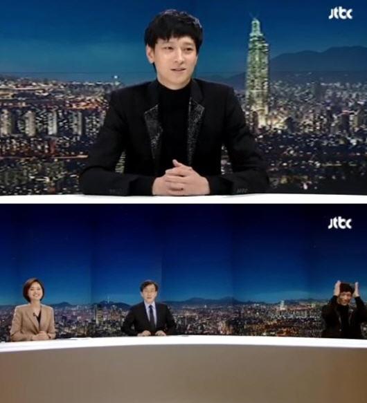 '뉴스룸' 강동원 손석희