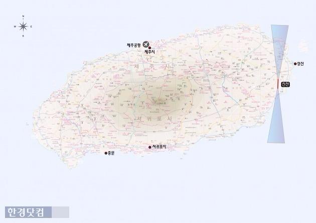 서귀포 신산 제주 제2공항  /국토교통부 홈페이지