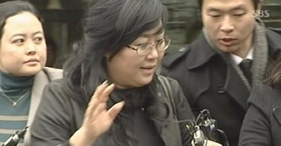 김인혜 전 교수. SBS뉴스 캡처