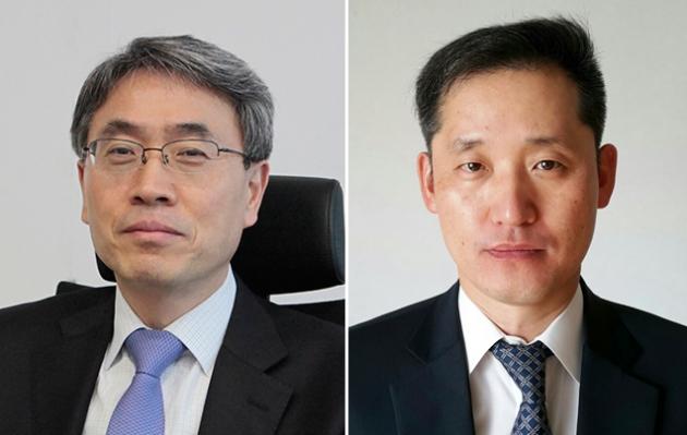 왼쪽부터 김재식 부사장, 박중현 상무