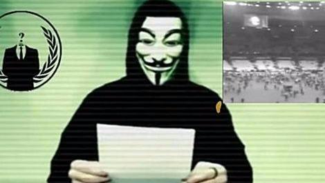 IS 사이버공격 예고 /어나니머스 유튜브