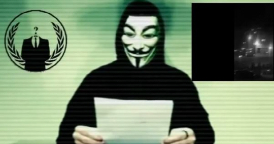 어나니머스 IS에 사이버 공격 예고 어나니머스 IS에 사이버 공격 예고/사진=유튜브 캡쳐