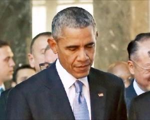 IS 격퇴 의지를 밝힌 버락 오바마 미국 대통령. 한경DB