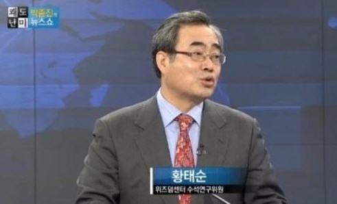 '위수령' 발언 황태순 /해당 방송 캡쳐