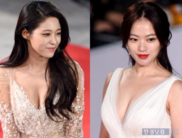 청룡영화제 설현 천우희 /사진=변성현 기자