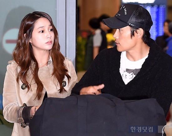 이병헌 이민정 내부자들 /사진 = 변성현 기자
