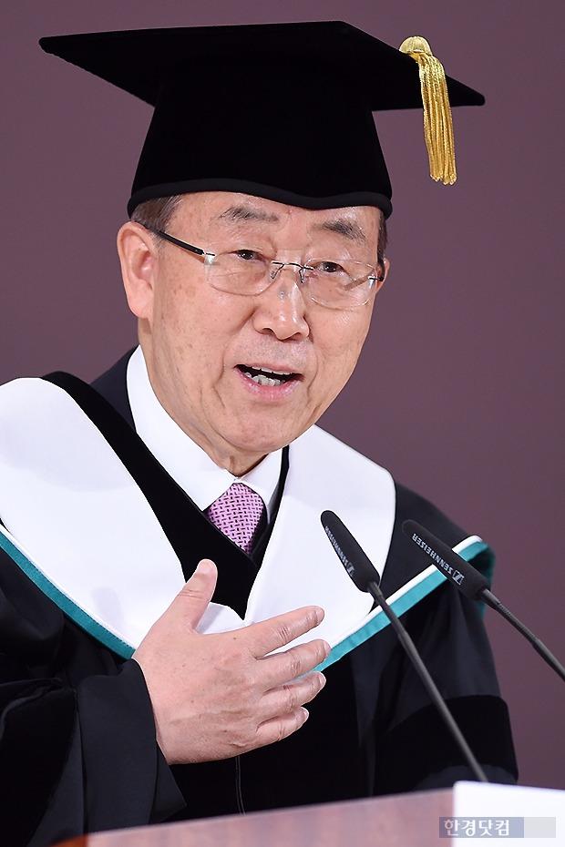 반기문 유엔총장 방북 / 한경DB