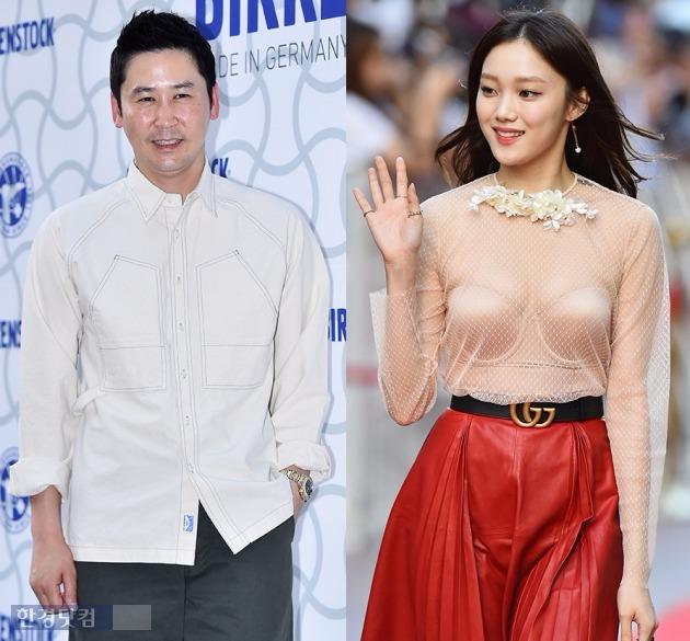 이성경 신동엽 MBC 연예대상 /한경DB