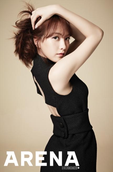 지동원 강지영 언니 결혼 / 강지영 사진 = 아레나 화보