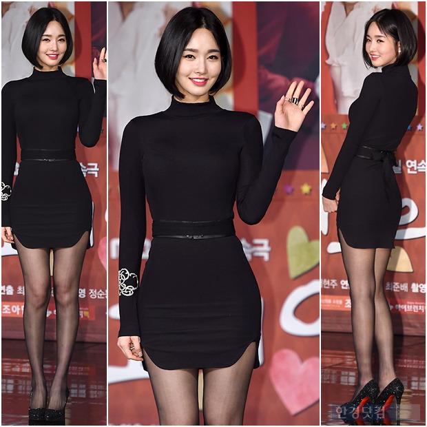 ▶ 김유미, '블랙 원피스에 드러난 볼륨 몸매'
