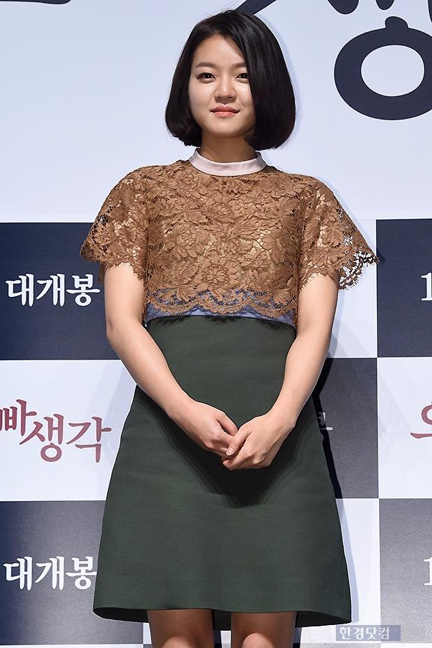 영화 '오빠 생각' 고아성 / 사진 = 변성현 기자