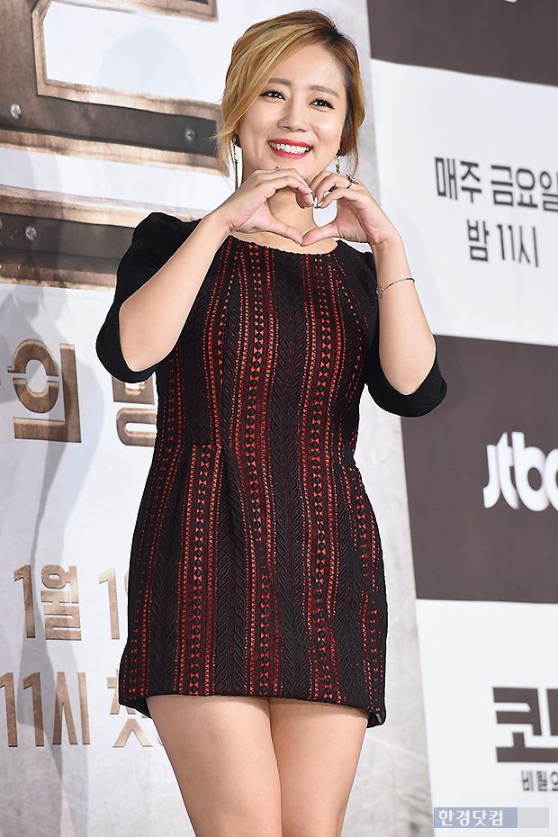▶ 최송현, '남자들 마음 흔드는 달콤한 하트~'