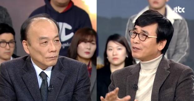 '썰전' 유시민 전원책 /JTBC