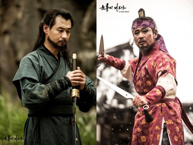 육룡이 나르샤 길태미 길선미역 박혁권 /SBS