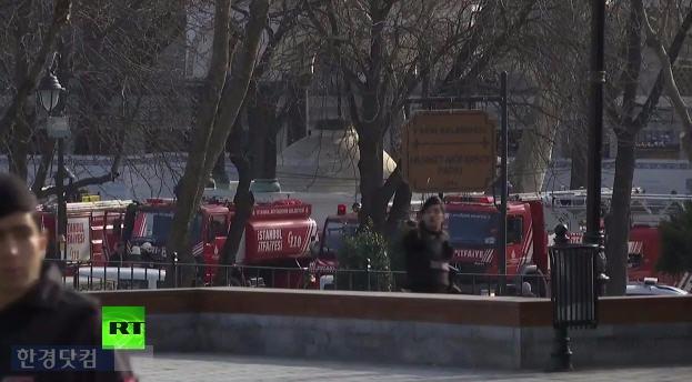 터키 이스탄불 폭발 사고 /사진=RT France 유튜브 채널