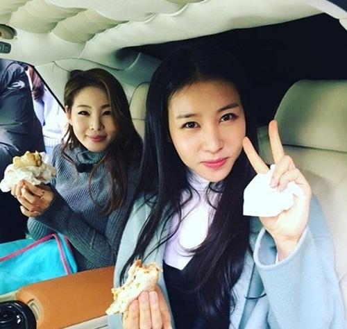 김정민 신수지 / tvN 인스타그램
