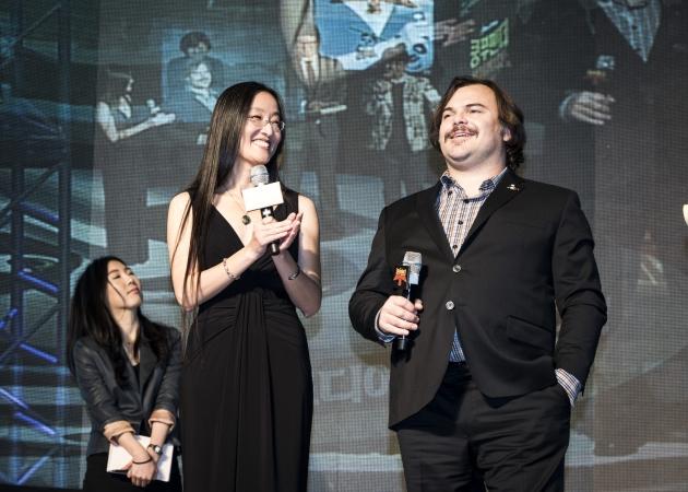 영화 '쿵푸팬더3' 잭 블랙, 여인영 감독