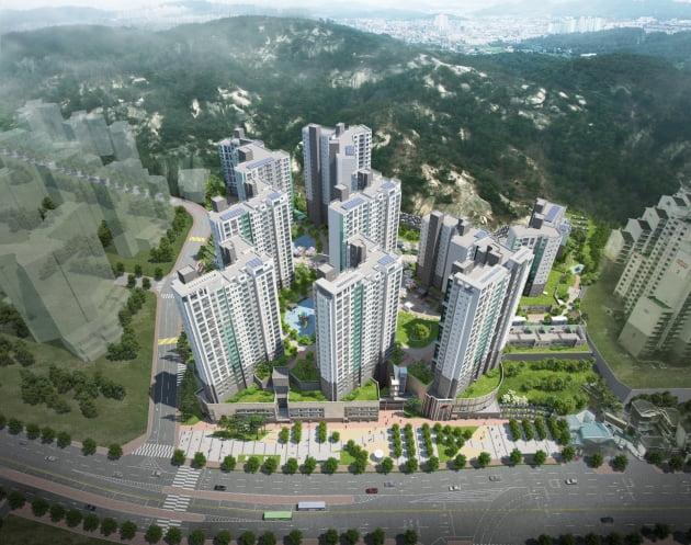 '힐스테이트 녹번' 조감도. 현대건설 제공