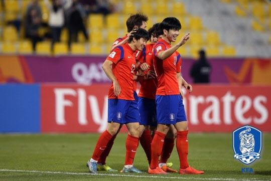 한국 카타르 리우 올림픽 한국 카타르 리우 올림픽/사진=대한민국축구협회 제공