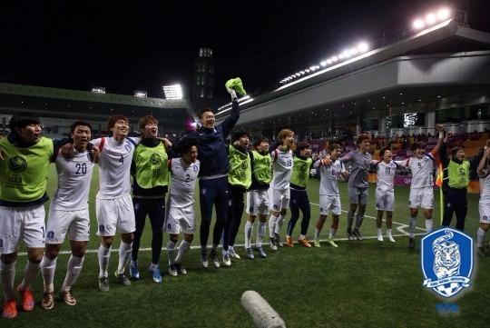 한국 카타르 / 한국 카타르 대한축구협회 제공