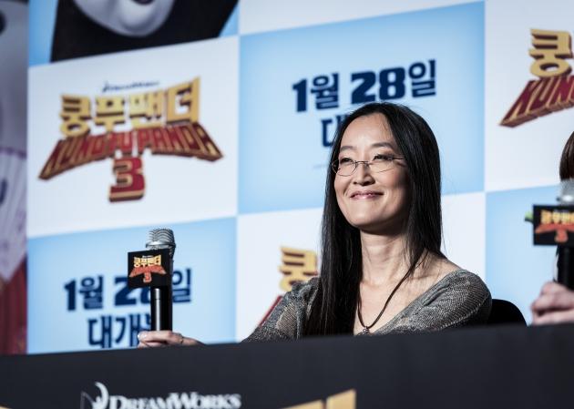 쿵푸팬더3 여인영 감독 내한 기자회견