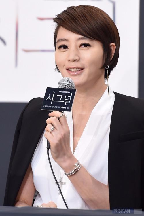'시그널' 김혜수 / 사진 = 변성현 기자