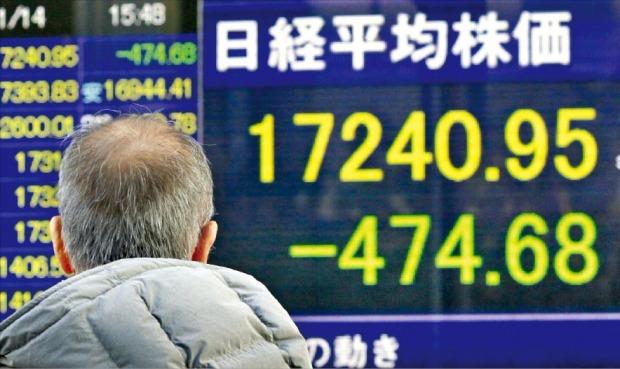 [확산되는 중국발 쇼크] 일본 엔화값 치솟고 주가 급락…'중풍(中風)' 맞은 아베노믹스 | 국제 | 한경닷컴