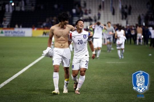 한국 카타르 황희찬 한국 카타르 황희찬 / 사진=대한축구협회