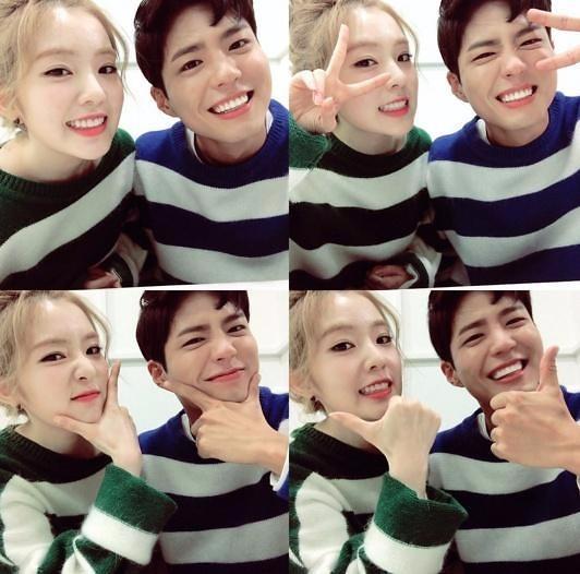 딴따라 박보검/사진=딴따라 박보검, 뮤직뱅크 공식 SNS