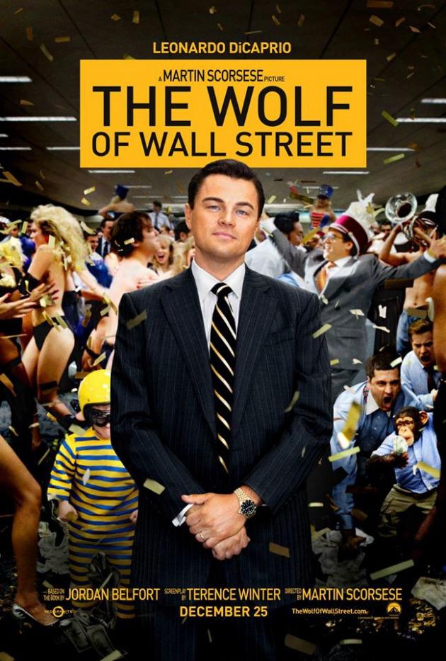 영화 '더 울프 오브 월 스트리트' 공식 포스터. 사진출처=미국 더 울프오브 월스트리트 공식 페이스북