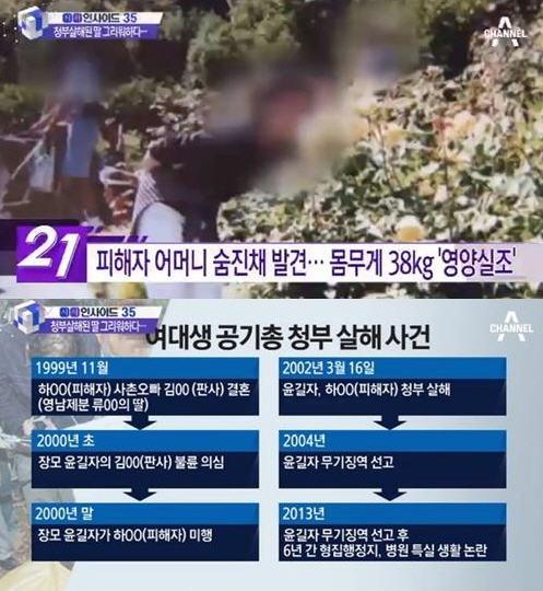 영남제분 여대생 청부 살인 /채널A
