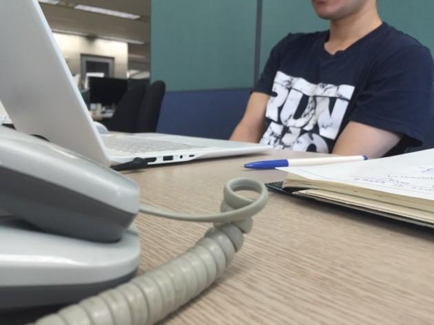 뉴스래빗과 함께 지난 5월부터 청년수당 신청 과정을 함께 준비한 배우지망생 전종구씨(가명).