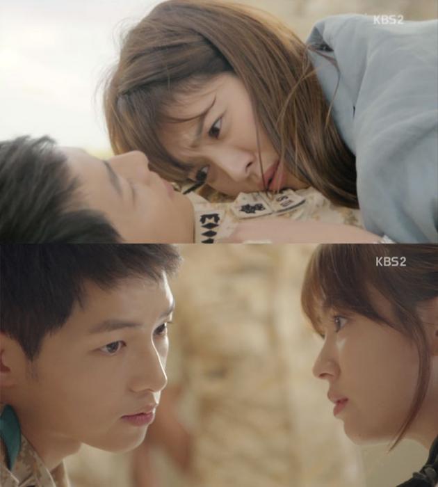 KBS 2TV '태양의 후예'  방송 캡처