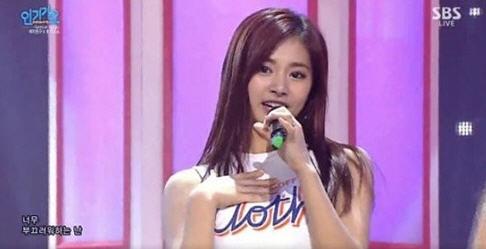 쯔위 의상논란 / 사진=SBS '인기가요' 방송화면 캡처