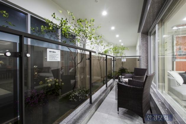 '평택 비전2차 푸르지오' 전용 96㎡ 테라스.