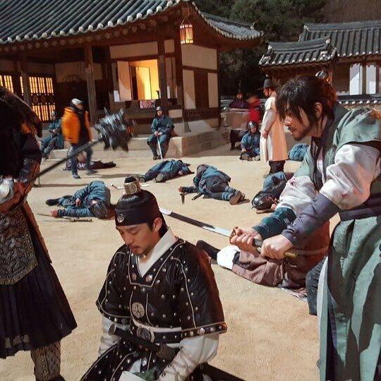 월화드라마 육룡이나르샤/ 사진=윤균상 인스타그램
