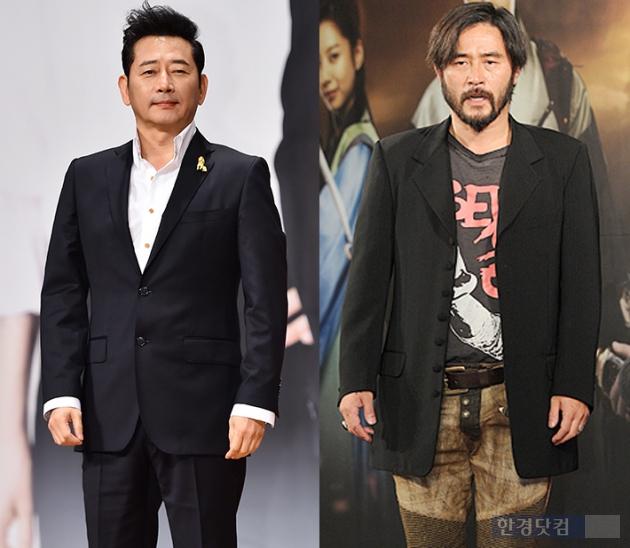 '대박' 전광렬 최민수 /한경DB