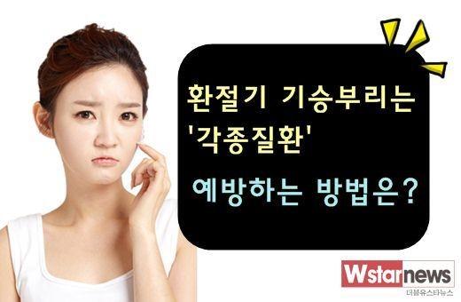 환절기 축농증 환자 환절기 축농증 환자 / 사진 = W스타뉴스