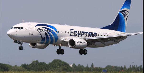 이집트항공 여객기 공중납치, 키프로스 착륙 /사진=유튜브 브레이킹뉴스