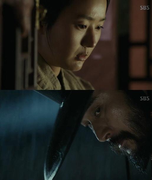 최민수 윤진서 / 사진=SBS '대박' 방송화면 캡처