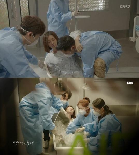 '태양의 후예' 김지원 인터뷰 / 사진 = KBS2 방송 캡처