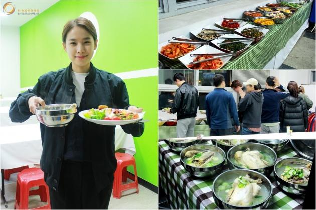 조윤희 밥차 / 사진 = 킹콩엔터테인먼트