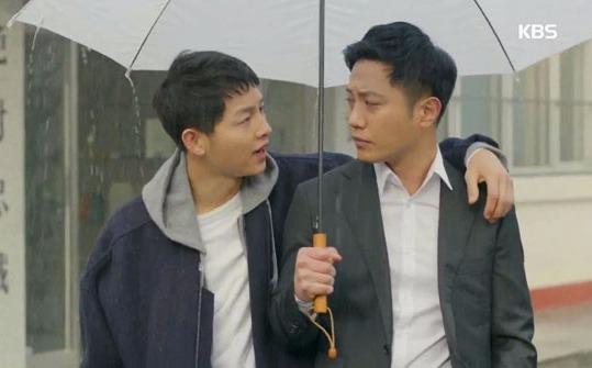 태양의 후예 송중기 진구 / 사진 = KBS 방송 캡처